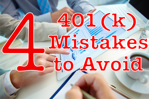 401k mistakes to avoid